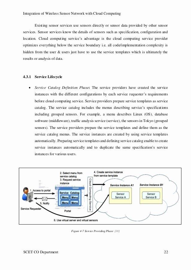 It Infrastructure Site Survey Template Unique Sensor Cloud Infrastructure Small Survey Report