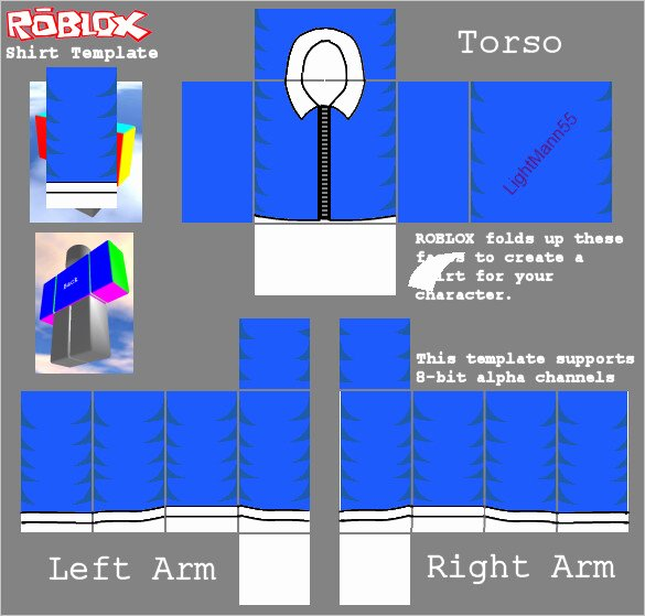 Jacket Template Roblox Elegant Shirt Templates
