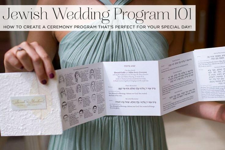 Jewish Wedding Program Template Best Of 25 Best Ideas About Jewish Wedding Invitations On