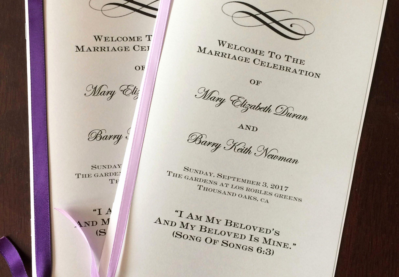 Jewish Wedding Program Template Fresh A Bride's Diy Interfaith Wedding Program Interfaithfamily