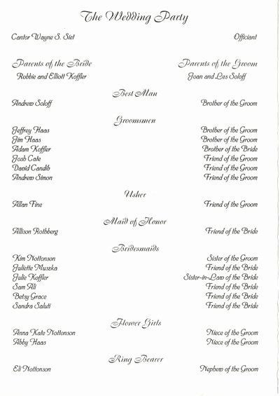 Jewish Wedding Program Template Inspirational Blog Archives