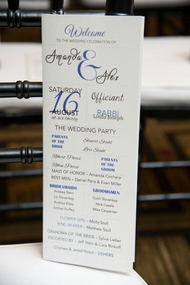Jewish Wedding Program Template Luxury 1000 Ideas About Wedding Program Samples On Pinterest