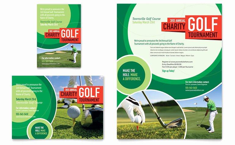 Job Advertisement Template Microsoft Word Inspirational Golf tournament Flyer & Ad Template Word & Publisher