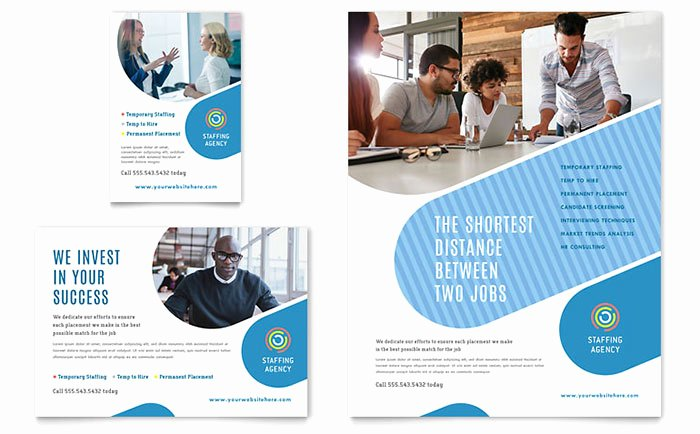 Job Advertisement Template Microsoft Word Lovely Employment Agency Flyer & Ad Template Word & Publisher