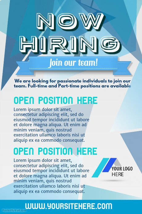 Job Advertisement Template Microsoft Word Unique Copy Of Hiring Poster Template