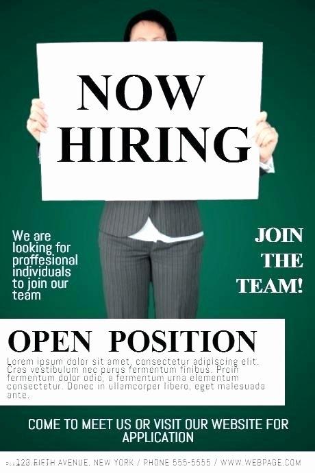 Job Flyer Template Word Inspirational Help Wanted Flyer Template