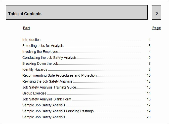 Job Hazard Analysis Template Excel Unique 10 Sample Job Safety Analysis Templates Pdf Doc