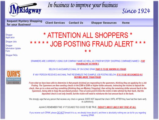 Job Posting Examples Awesome Job Posting Spam Job Posting Fraud Alerts Fake Job Scammers