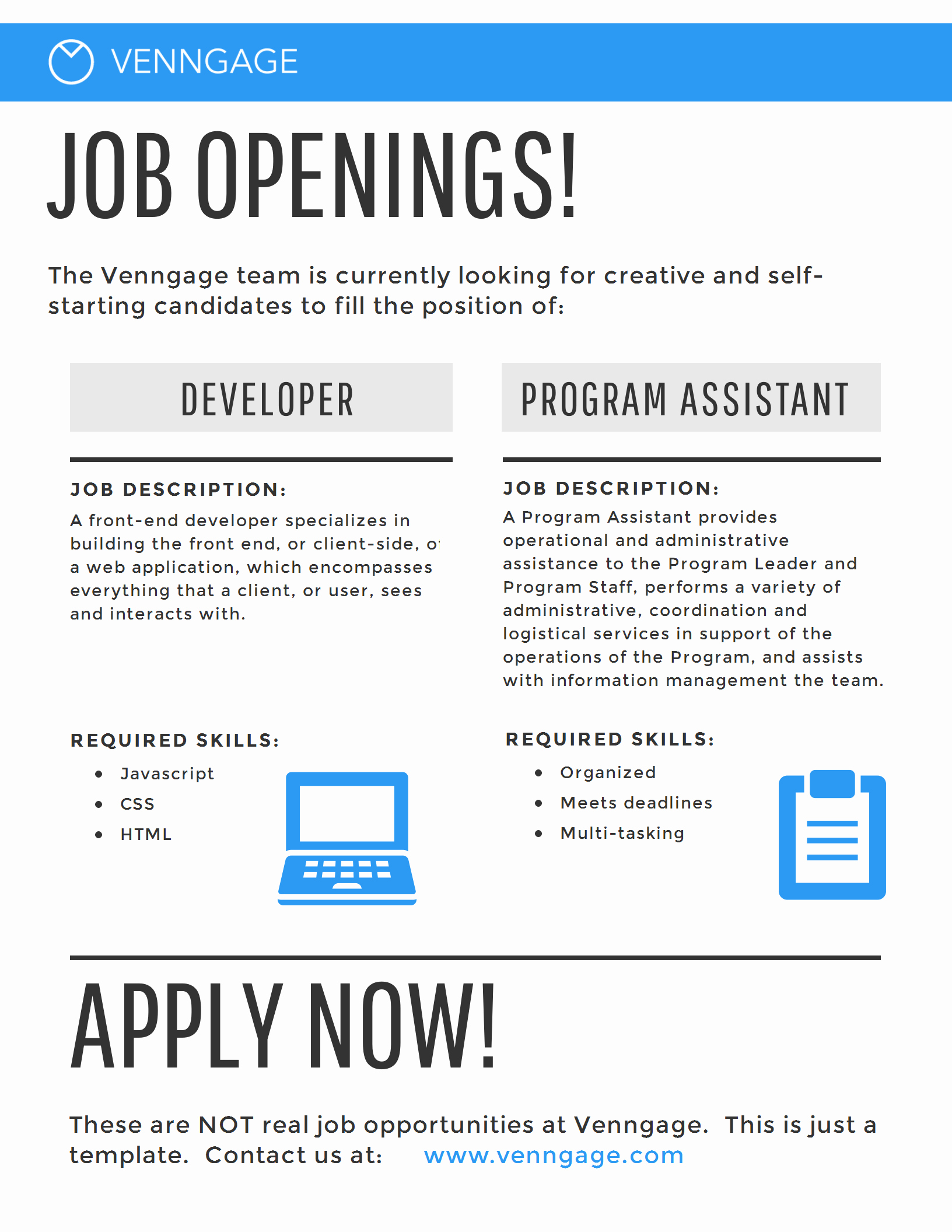 Job Posting Examples Inspirational 5 Hr Poster Templates for A Happy Business [infographic]