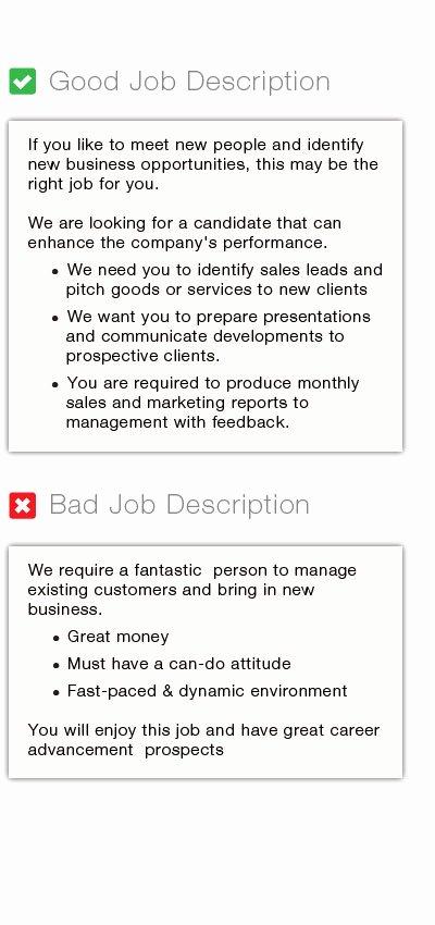 Job Posting Examples New Job Posting Job Description