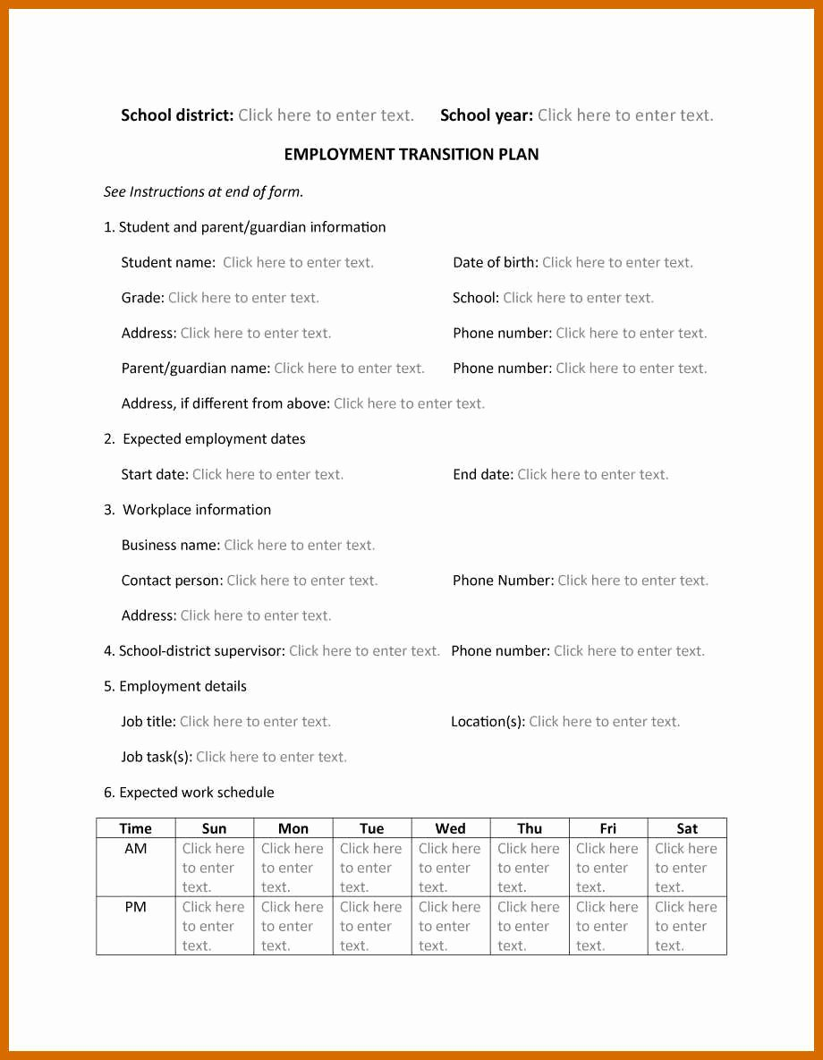 Job Transition Email Template Luxury 8 9 Transition Plan Examples