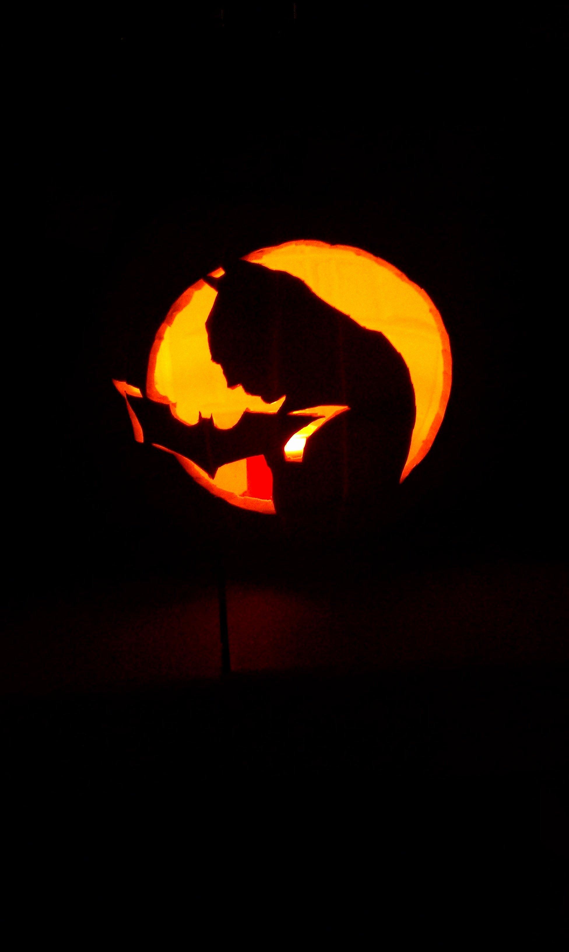 Joker Pumpkin Carving Patterns Beautiful $20 00 Batman Pumpkin Carved Foam Pumpkins