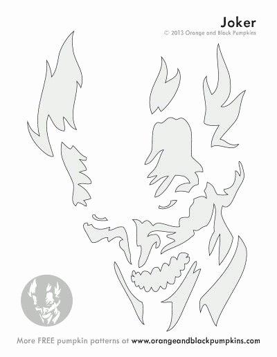 Joker Pumpkin Carving Patterns Beautiful Best 25 Joker Pumpkin Ideas On Pinterest