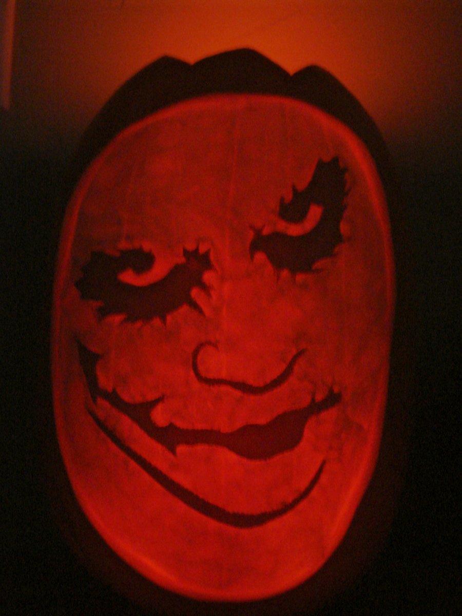 Joker Pumpkin Carving Patterns Elegant Joker Pumpkin Lit by Jfg2597 On Deviantart