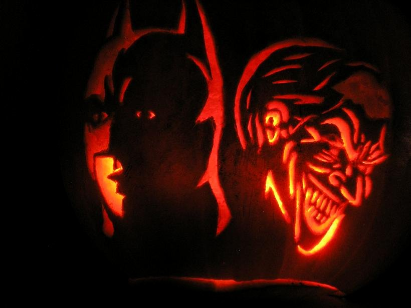 Joker Pumpkin Carving Patterns Fresh My Carved Pumpkin Gallery by Year