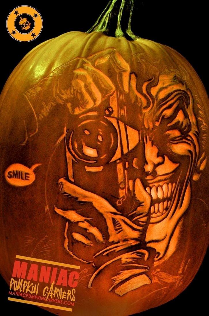 Joker Pumpkin Carving Patterns Inspirational Best 25 Batman Pumpkin Ideas On Pinterest