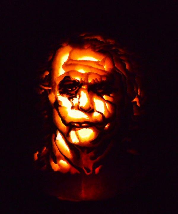 Joker Pumpkin Carving Patterns Inspirational Joker Pumpkin by Steamboatlyssie On Deviantart