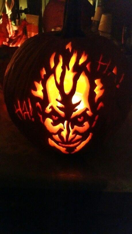 Joker Pumpkin Carving Patterns Luxury Best 25 Joker Pumpkin Ideas On Pinterest