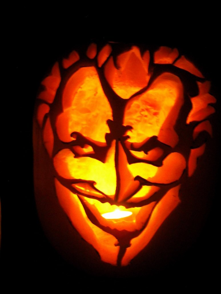 Joker Pumpkin Carving Stencils Beautiful Joker Pumpkin by Black Destiny On Deviantart