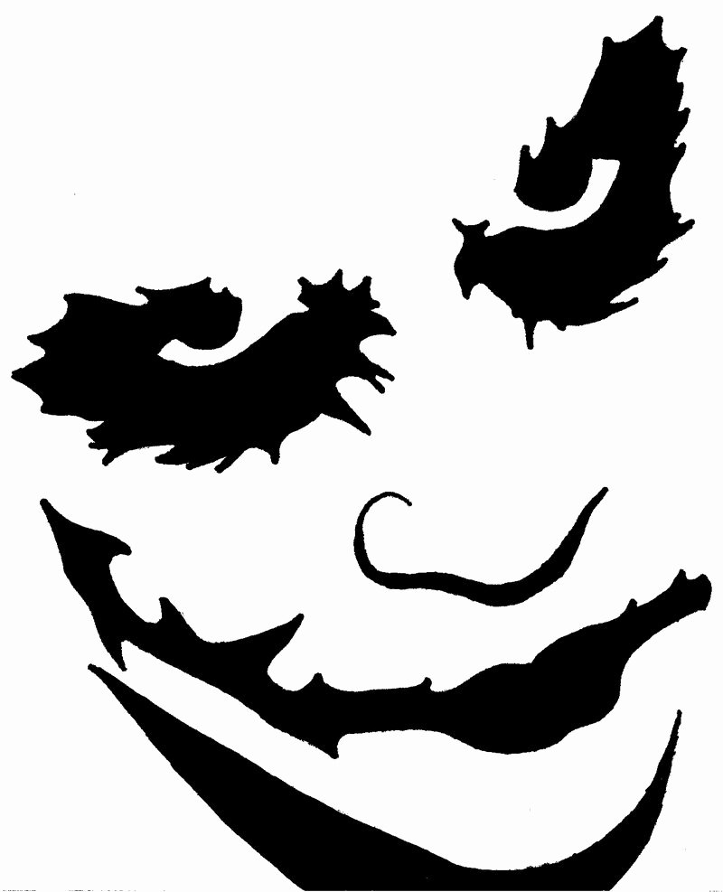 Joker Pumpkin Carving Stencils Beautiful Joker Pumpkin Stencil by Blanksofar On Deviantart