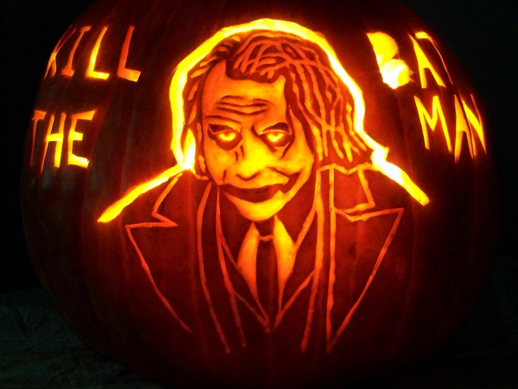 Joker Pumpkin Carving Stencils Fresh Your Favorite Villains are even Scarier as Jack O Lanterns