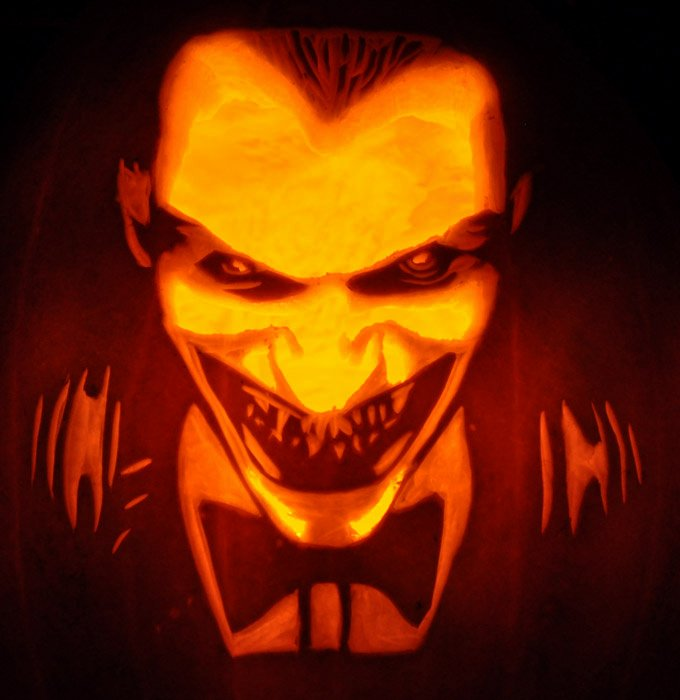 Joker Pumpkin Carving Stencils New Fantasy Pumpkins Noel S Pumpkin Carving Archive