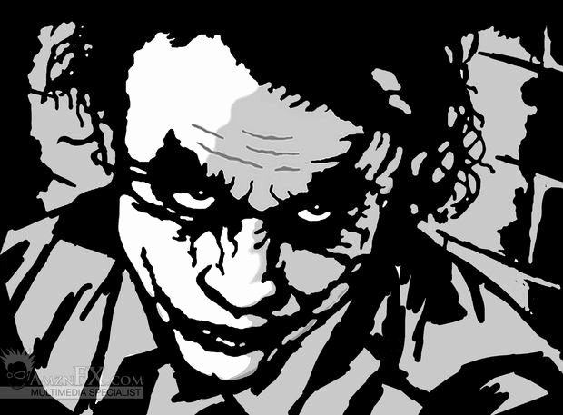 Joker Pumpkin Stencils Beautiful Dark Knight Pumpkin with Free Stencil Pattern