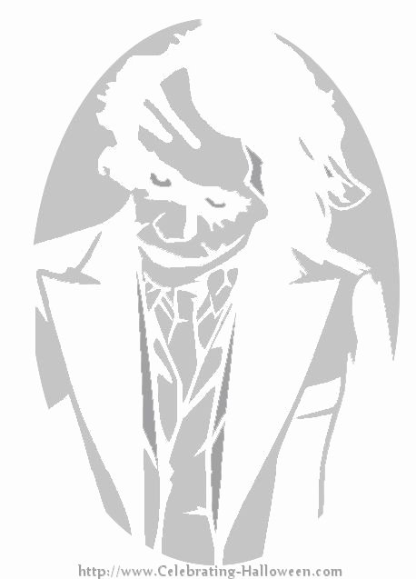 Joker Pumpkin Stencils Best Of 53 Best Pumpkin Carving Patterns Images On Pinterest