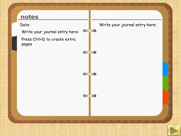 Journal Writing Template Fresh Diary Writing Template