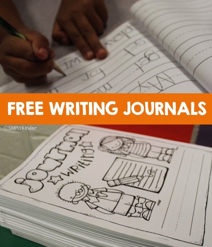 Journal Writing Template Inspirational Free Writing Journals and Paper