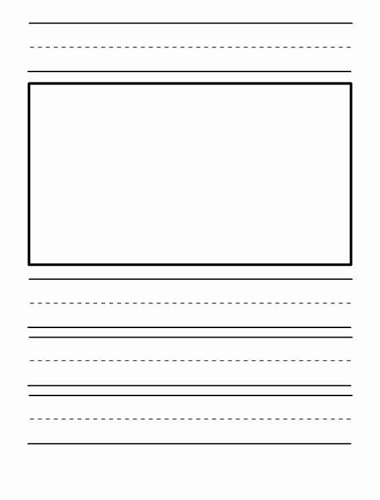 Journal Writing Template New Kindergarten Journal Paper Templates