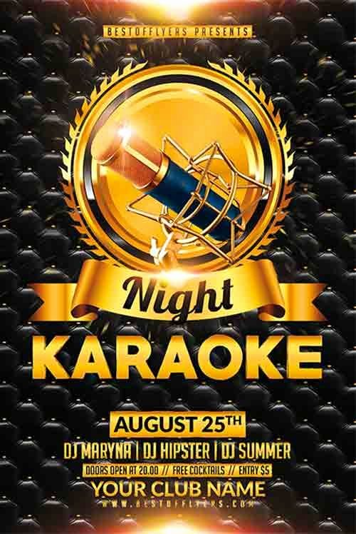 Karaoke Night Flyer Elegant 25 Best Ideas About Free Flyer Templates On Pinterest