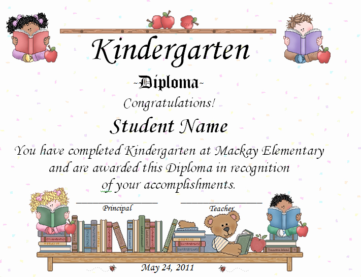 Kindergarten Graduation Program Template Free Elegant Keeping Focused Kindergarten Graduation