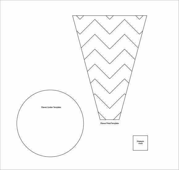 Large Flower Petal Template Beautiful Flower Petal Template 9 Download Documents In Pdf Psd