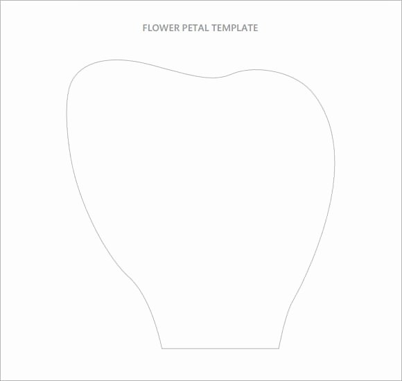Large Flower Petal Template Fresh Flower Petal Template 9 Download Documents In Pdf Psd