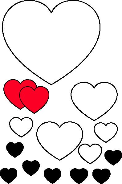 Large Heart Stencil Printable Fresh Heart Stencil Clip Art at Clker Vector Clip Art