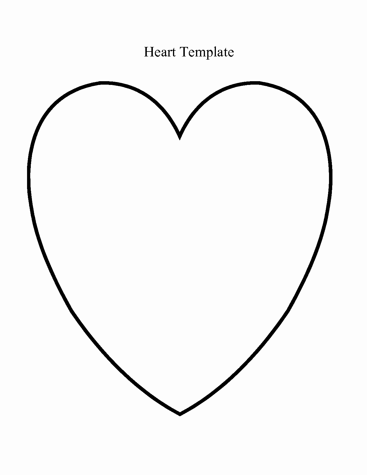 Large Heart Stencil Printable Luxury Heart Template Google Search Playgroup Crafts