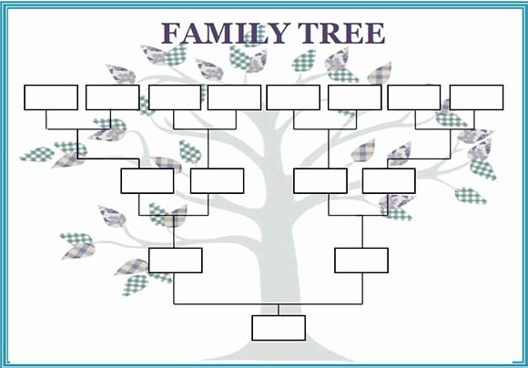 Large Tree Template Lovely Family Tree Template 55 Download Free Documents In Pdf