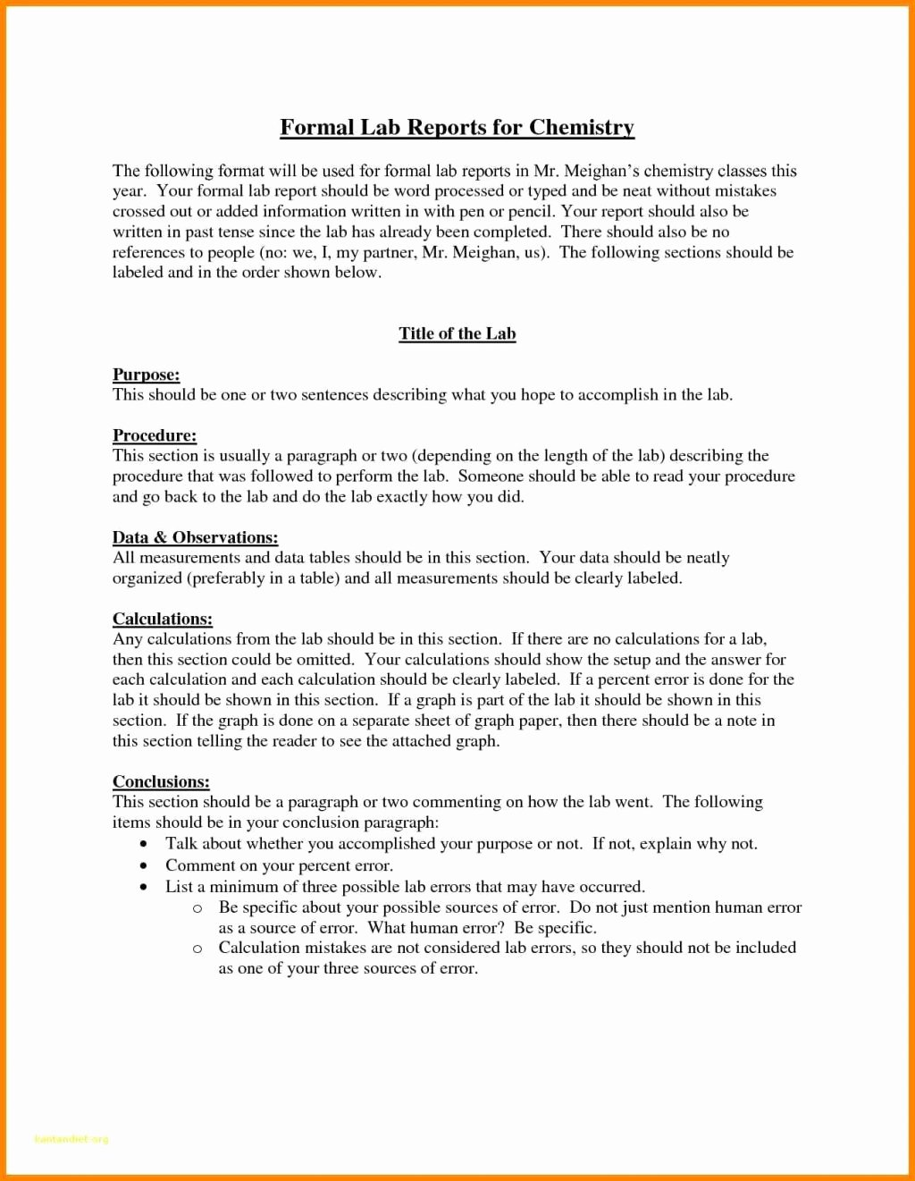 Latex Lab Report Template Unique Lab Report Template Middle School Unique Worksheet Free