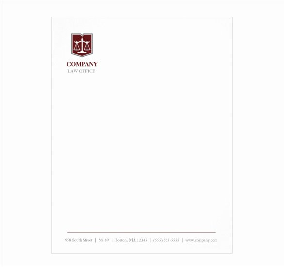 Law Firm Letterhead Template Beautiful Letterhead Template – 6 Free Psd Eps Documents Download