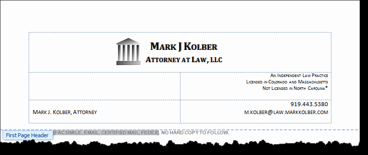 Law Firm Letterhead Template Inspirational Law Firm Letterhead