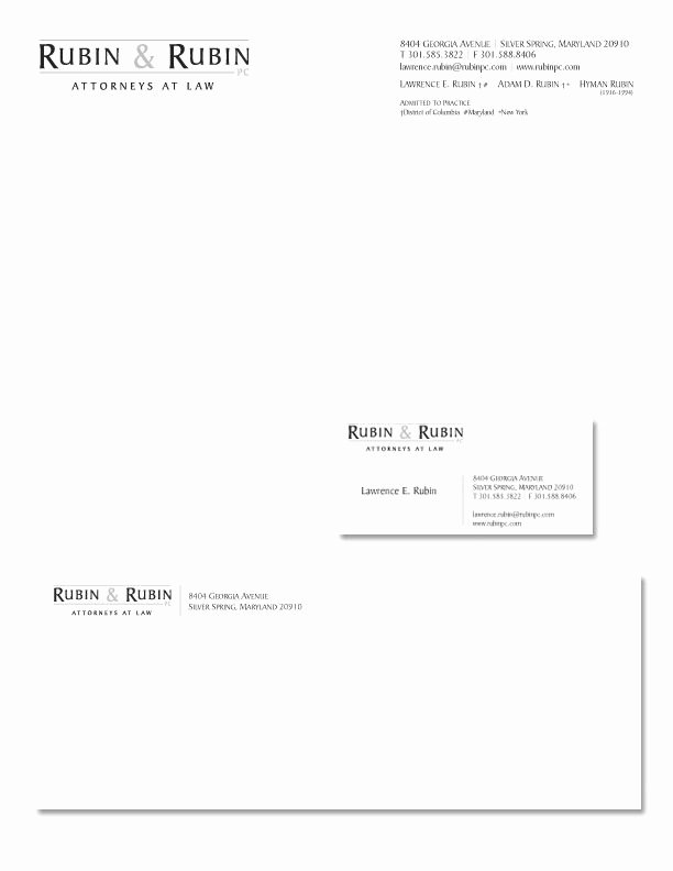 Law Firm Letterhead Template Lovely Stationery Design Job – Law Firm Logo and Stationary