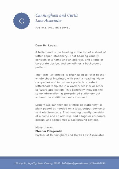 Law Firm Letterhead Templates Fresh Customize 40 Law Firm Letterhead Templates Online Canva