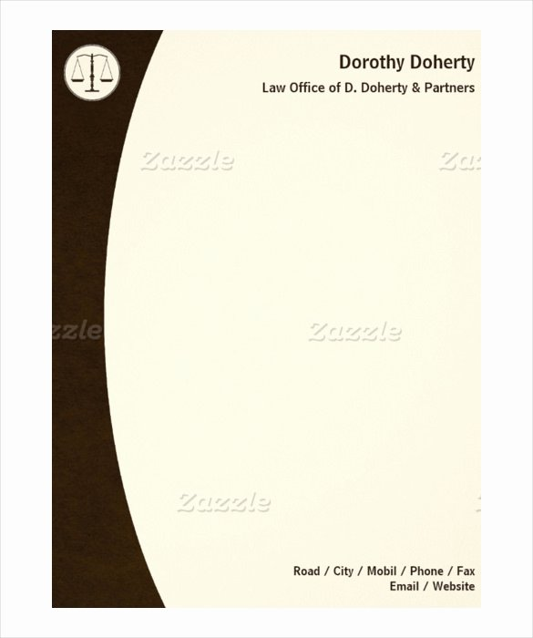 Law Firm Letterhead Templates Fresh Download Putational Intelligence Paradigms theory