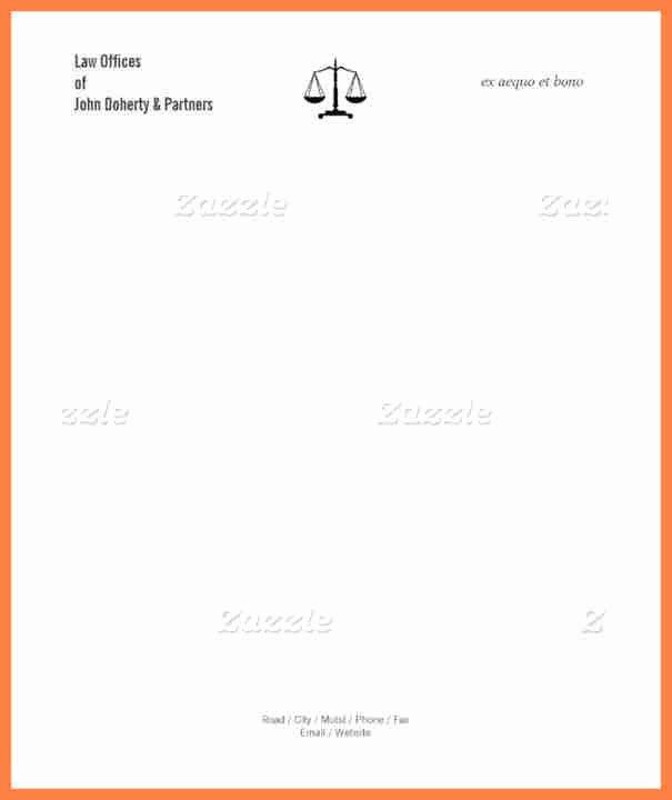 Law Firm Letterhead Templates Unique 4 Law Firm Letterhead Templates