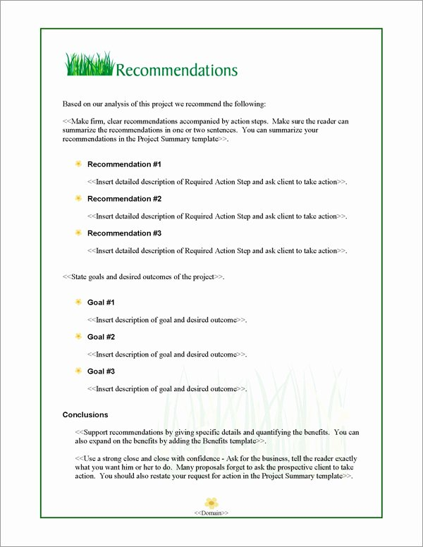 Lawn Care Bid Proposal Template Awesome Proposal Pack Lawn 1 software Templates Samples