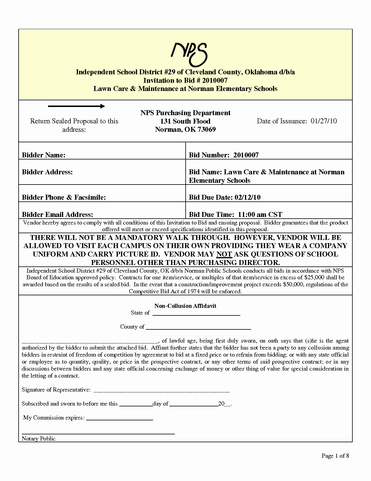Lawn Care Bid Proposal Template Fresh 10 Best Of Independent Proposal forms Independent