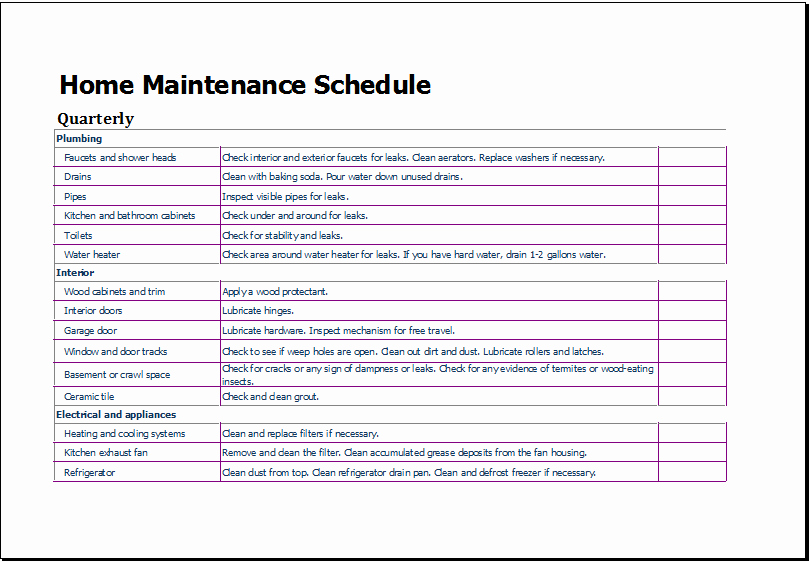Lawn Mowing Schedule Template Elegant Lawn Maintenance Schedule Template