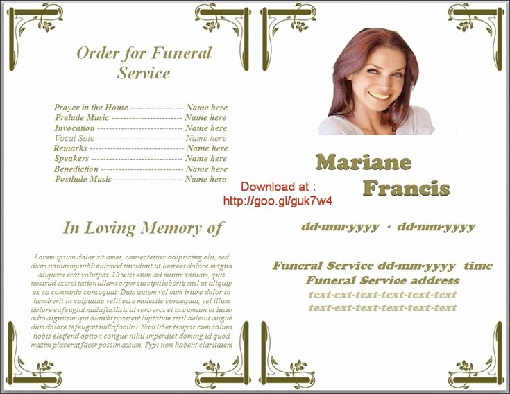 Lds Funeral Program Template Free Luxury Pin by Sam Bither On Funeral Program Templates for Ms Word
