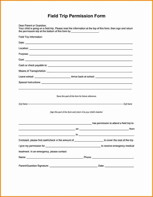 Lds Youth Permission Slip Beautiful 5 Girl Scout Permission Slips